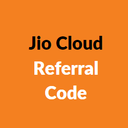 jio cloud referral code