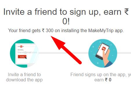 makemytrip invite