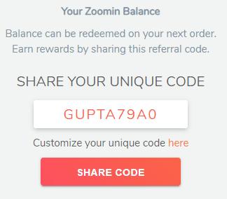 zoomin code