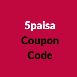5paisa coupon code
