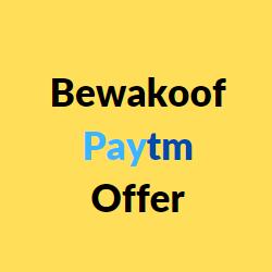 Bewakoof paytm offer