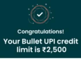 bullet credit