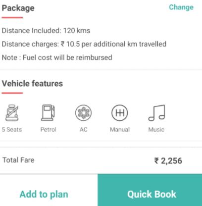 drivezy booking