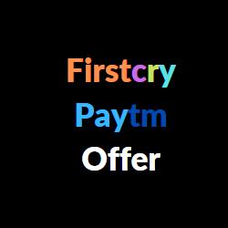 firstcry paytm offer
