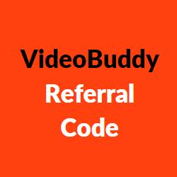 videobuddy referral code