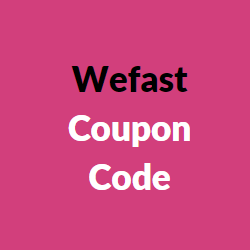 wefast coupon code