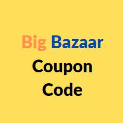 Big Bazaar Coupon Code