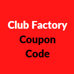 Club Factory Coupon Code