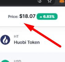 Huobi tokens