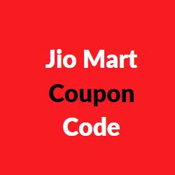 Jio Mart Coupon Code