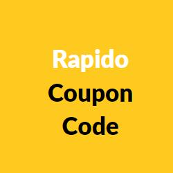 Rapido Coupon Code