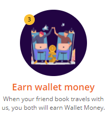 EaseMyTrip wallet