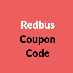 Redbus Coupon Code