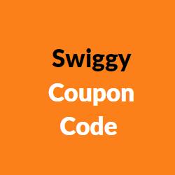 Swiggy Coupon Code