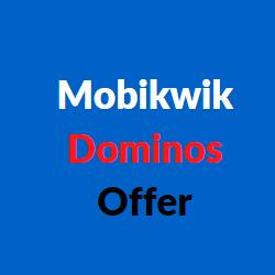 mobikwik dominos offer
