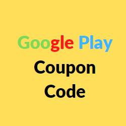 Google Play Coupon Code