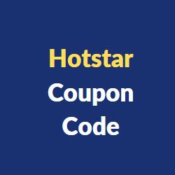 Hotstar Coupon Code