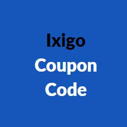 Ixigo Coupon Code