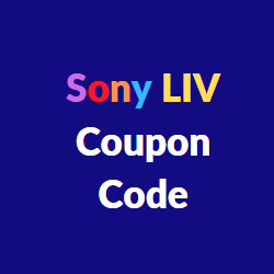 Sonyliv coupon code