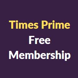 Times Prime Free Membership