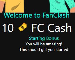 welcome bonus