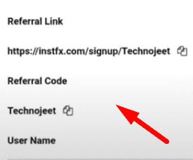 instafx code