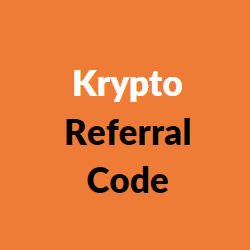 krypto referral code