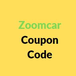 zoomcar coupon code