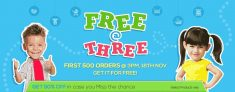 Firstcry Free At Three – Get 100% Off At 3 Pm