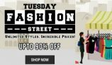 Shopclues Tuesday Offer – Get Upto 90% Off On Fashion Products