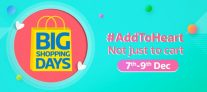 Flipkart Big Shopping Days Sale 7 – 9th Dec – Big Discount