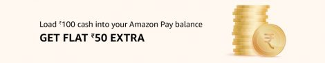 Amazon Add Money Offers – Get Rs 50 Extra on Loading Rs 100 Cash