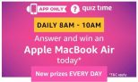 Amazon Apple MacBook Air Quiz Answers – 22nd December