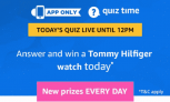 Amazon Tommy Hilfiger Watch Quiz Answers – 5th April 2019