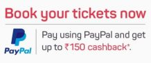 Bookmyshow Paypal Offer – Get 50% Instant Cashback Up to Rs 300
