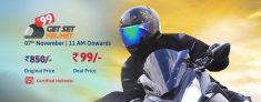 (Live) Droom Helmet Offer – Get A Certified Helmet At Rs 99