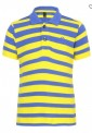 United Colors of Benetton Yellow & Blue Striped Polo T-Shirt @ Rs.447 – Snapdeal