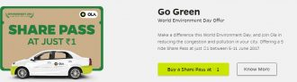 Ola Free Pass Sale – Get Free Ola Pass In Selected Cities