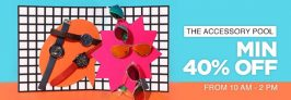 Jabong – Get Minimum 40% Off on Watches & Sunglasses