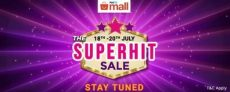 PaytmMall The Big SuperHit Sale – 18 – 20th July 2017