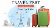 Myntra Travel Fest – Get Upto 70% Off On Backpacks