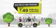 OlaCab – All Share rides at a flat Rs 49 [Mumbai]