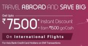 Goibibo International Flight Offer – Get Upto Rs 7500 Discount