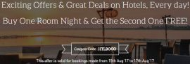 Makemytrip – Buy One Room Night & Get the Second One FREE
