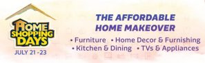 Flipkart Home shopping Days 21 – 23rd July – Steal Deals on Home Products
