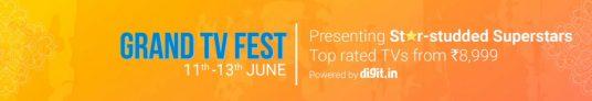 Flipkart Tv Fest 11 – 13th June 2017 – Get 10% discount on All Banks Cards