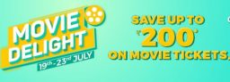 BookMyShow Movies – Get Upto Rs 200 Off on Movie Tickets