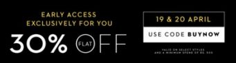 Koovs – Get Flat 30% Off On Purchase Above Rs.500