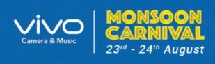 Flipkart Vivo Monsoon Carnival 23 – 24th Aug