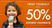 Zoomin – Get 50% Cashback on Orders